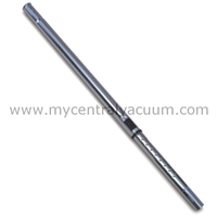 Friction Fit Chrome Metal Telescoping Wand