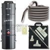 Galaxie GA-80 Powered 3 Inlet Kit with Standard Crushproof Hose and Elite Cleaning Set