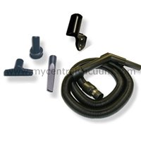 Compact Garage Cleaning Tool Package with Stretch Hose
