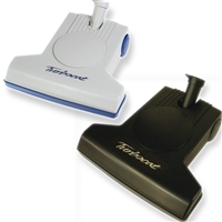 TurboCat Air-Driven Power Brush in Black or Gray. By Vacuflo.